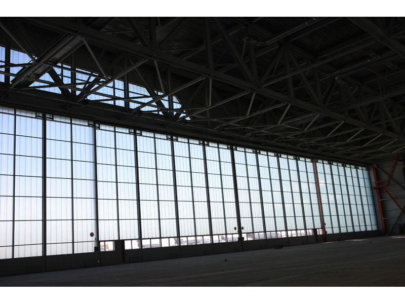 Нестандартные конструкции - Ангар ворота