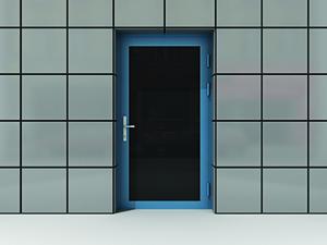 Двери алюминиевые входные из алюминиевого профиля